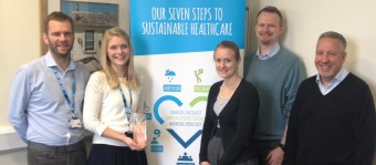 Care Without Carbon wins IHEEM Award
