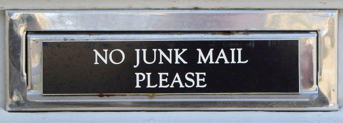 waste avoidance No_JunkMail_Valletta