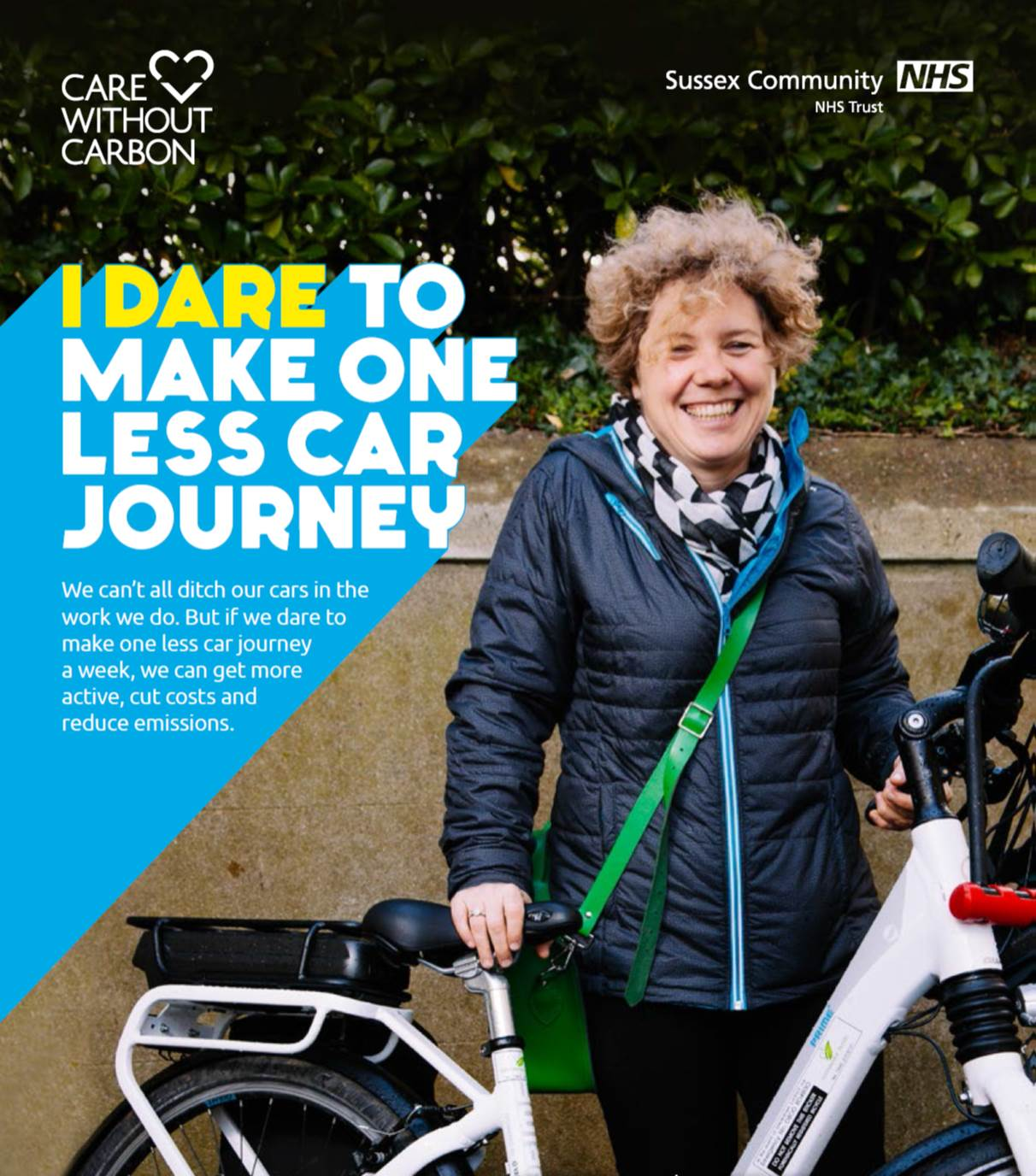 Marie Newton - daring to make one less car journey a week