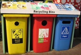 NEA recycling bins, Orchard Road