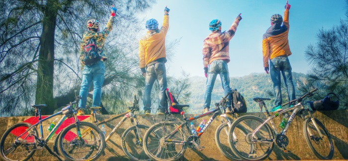 Cycling is a sustainable way to travel