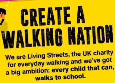 walk to school month