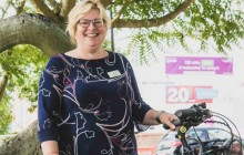 Cycling and Recycling go hand in hand for this doctor…