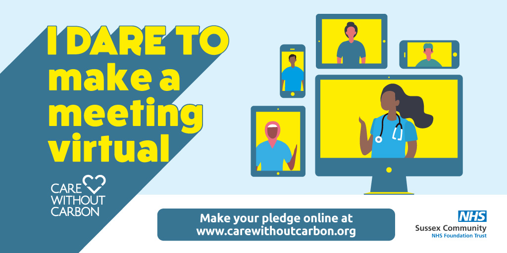 Make a meeting virtual for 60 Days Green