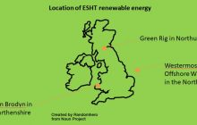 ESHT commit to 100% renewable energy