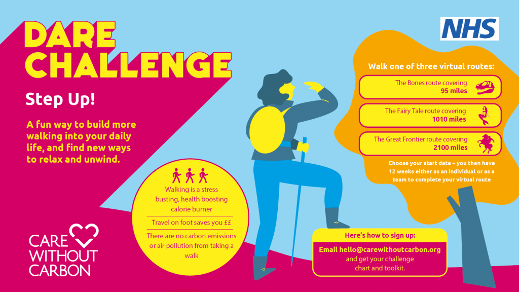 New Routes for Step Up Challenge