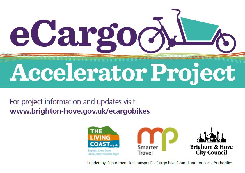 e cargo bike accelerator project with brighton and hove city council
