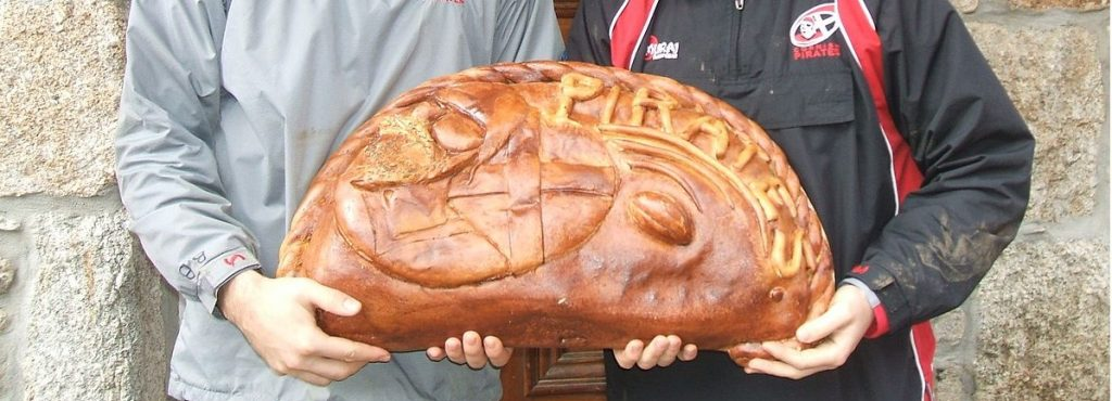 A giant cornish pasty